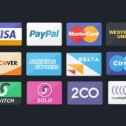 آیکن درگاه های پرداخت آنلاین برای طراحی بنر
