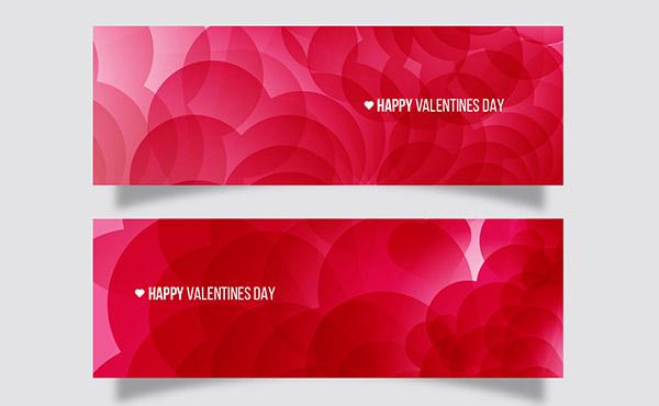 پس زمینه های انتزاعی قرمز عاشقانه