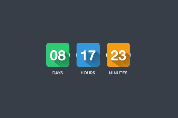 PSD timer Flat