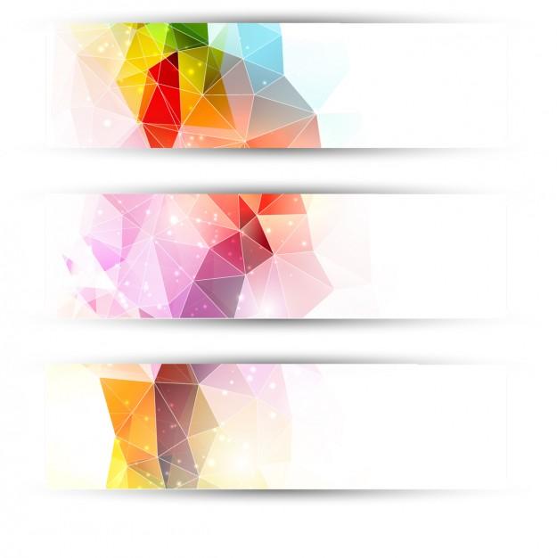 بک گراند رنگارنگ طراحی بنر | طراحی هدر