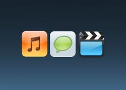 Music, Text, Videos-icon-banerplus.ir_